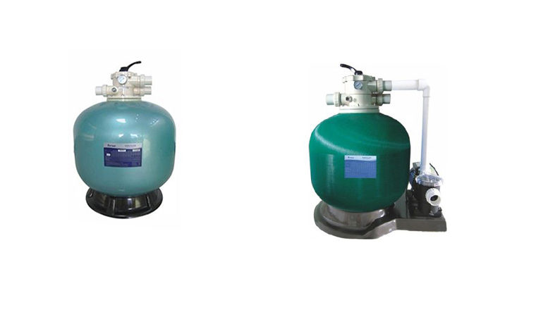 TOP & SIDE MOUNT SMOOTH SAND FILTER